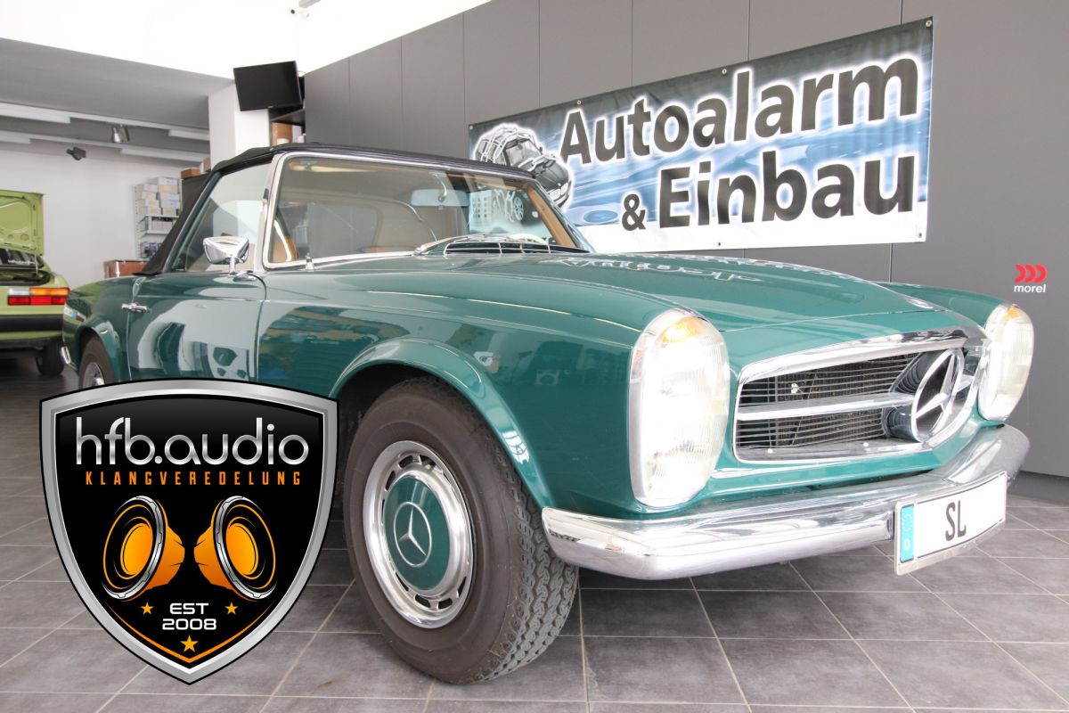 1 mercedes pagode hfb audio